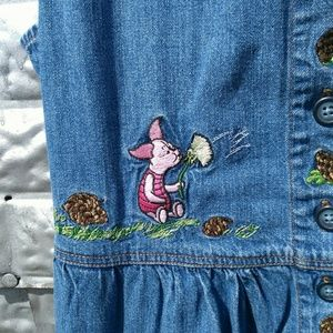c4b88e7ffe4 Disney Dresses - Winnie the Pooh and Piglet denim full length dress